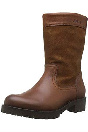 Aigle Damen Lierzon Boot Schlupfstiefel, (Camel 001)