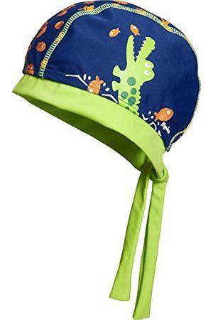 Playshoes Jungen Mütze UV-Schutz Kopftuch, Bademütze Krokodil