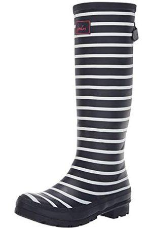 Joules Damen Wellyprint Gummistiefel, (French Navy Stripes Fnavstp)