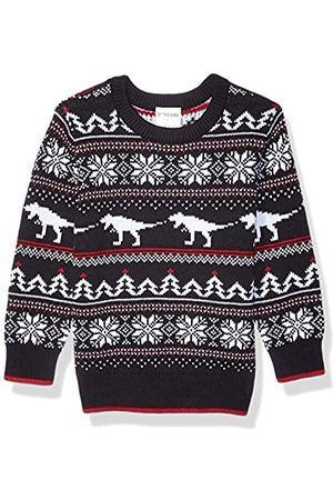 Spotted Zebra Crew Pullover-Sweaters