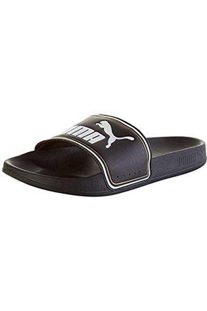 PUMA Jungen Flip Flops - Leadcat FTR Jr Zapatos de Playa y Piscina, Black White