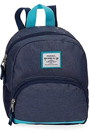 Pepe Jeans Molly Rucksack 25 centimeters 7.7 (Azul)