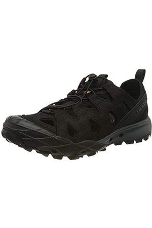 Merrell Herren Choprock Leather Shandal Aqua Schuhe, (Black Black)