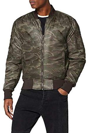 Urban classics Herren Tonal Camo Jacket Bomber Jacke