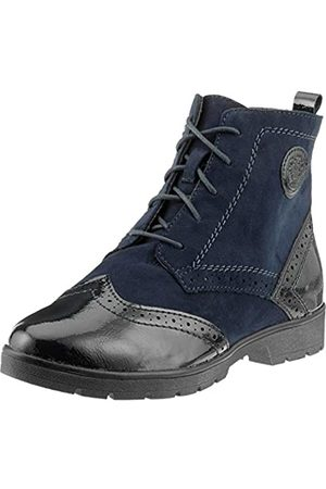 Soft Line Damen 25265-21 Combat Boots, (Navy 805)