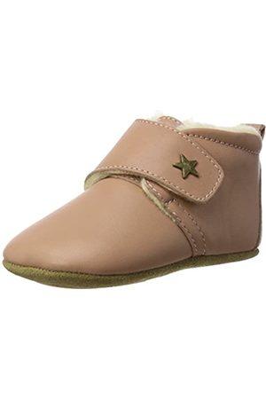 Bisgaard Unisex Baby Wool Star Pantoffeln, Pink (94 Nude)