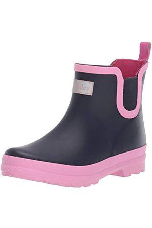 Hatley Mädchen Printed Ankle Rain Boots Gummistiefel, (Navy 400)