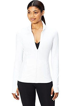 CORE Amazon-Marke: , Jacke mit durchgehendem Reißverschluss für Damen (XS-3X) aus der 'Icon Series' The Ballerina (white)