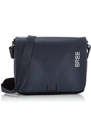 Bree Pnch 61, blue, shoulder bag 83251061 Unisex-Erwachsene Schultertaschen 26x6x21 cm (B x H x T)