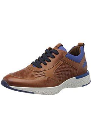 Lloyd Herren Low-Top Sneaker BANDOS, Männer Sneaker,VARIOFOOTBED, maennliche maskulin rustikal Men's Men Man Freizeit,Whisky/ROYAL