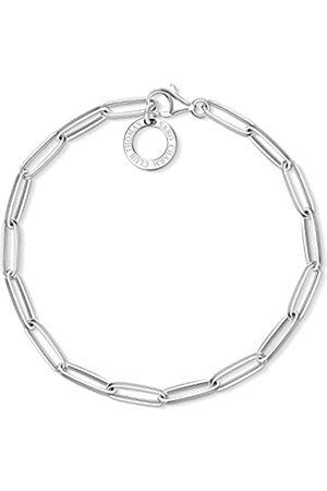 Thomas Sabo Damen-Charm-Armband Charm Club 925 Sterling X0253-001-21-L18