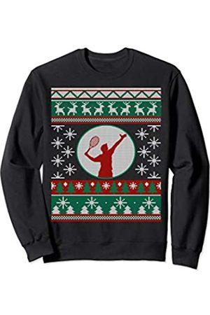 Love Tennis ugly christmas gift idea Tennis lover Sweatshirt