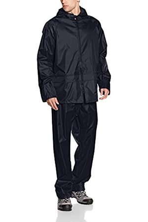 Result Herren Heavyweight Waterproof Jacket & Trouser Set Regenmantel, - (Marineblau)