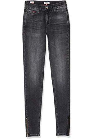 Tommy Hilfiger Damen Nora Mid Rise Skny ANK Zip Jrvbk Straight Jeans