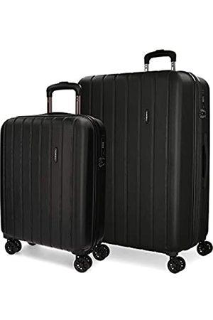 MOVOM Wood Koffer, Erweiterbares Set mit 2 Koffern