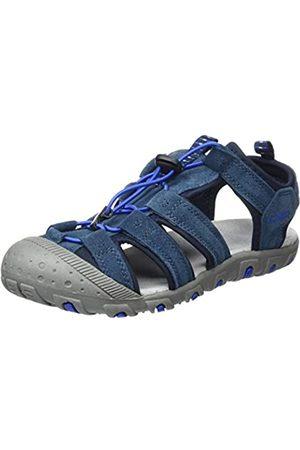 CMP – F.lli Campagnolo Unisex-Kinder Kids SAHIPH Leather Hiking Sandal Trekking- & Wandersandalen, (Cosmo N985)
