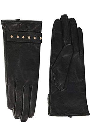 Scotch&Soda Maison Damen Leather Gloves with Rivets Handschuhe