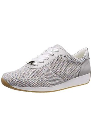 ARA Damen LISSABON 1224027 Sneaker, (Candy-Weiss, Sasso/ 21)