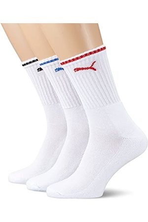 Puma Unisex SPORT CREW STRIPE 3P Socken