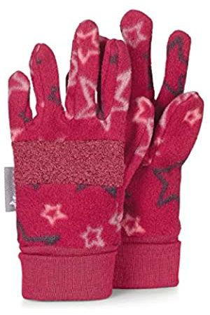 Sterntaler Fleece-Fingerhandschuhe mit Sternen-Motiv, Alter: 3-4 Jahre, Größe: 3