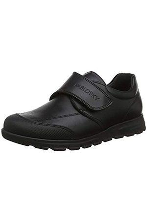 Pablosky Unisex-Kinder 334510 Sneakers, (Negro Negro)