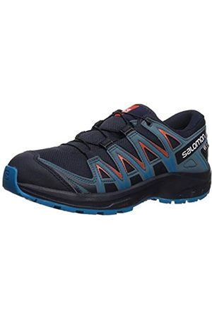 Salomon Kinder Sportschuhe, XA PRO 3D CSWP J, Farbe: /orange (Navy Blazer/Mallard Blue/Hawaiian Surf)