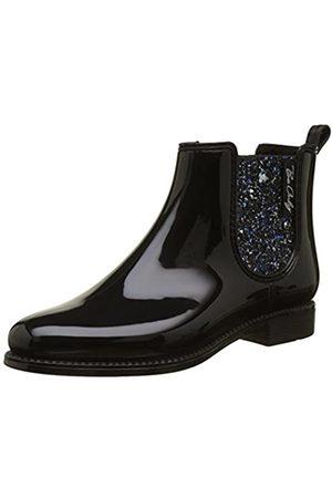 Be Only Damen Nashville Glitters Chelsea Boots, (Noir Noir)