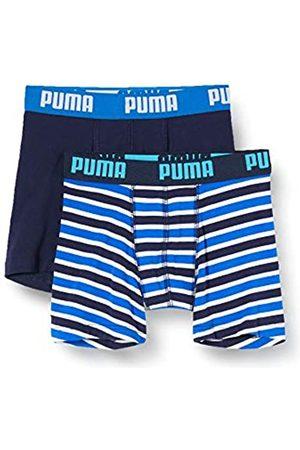 Puma Jungen Boys Basic Boxer Printed Stripe 2P Boxershorts