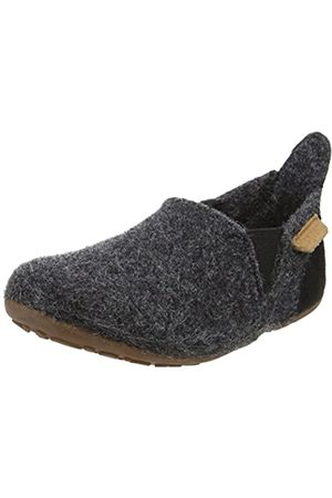 Bisgaard Unisex-Kinder Wool Sailor Slipper, (74 Antrachite)