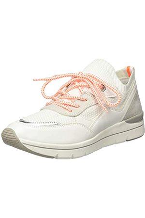 Marco Tozzi Damen 2-2-23729-24 Sneaker, (White/Neon 179)