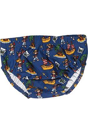 Playshoes Baby - Jungen Schwimmwindel Badewindel, Badehose, Pirateninsel, UV-Schutz nach Standard 801 und Oeko-Tex Standard 100