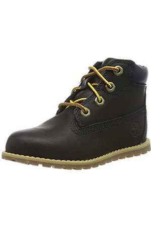 Timberland Unisex-Kinder Pokey Pine 6In Boot with Side Zip Klassische Stiefel, (Navy Full Grain)