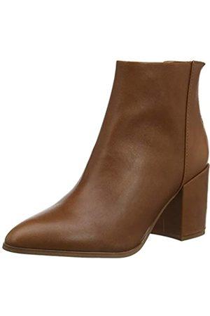Steve Madden Damen Jillian Bootie Stiefeletten, (Cognac Leather 247)