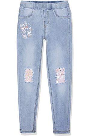 Desigual Mädchen Girl Knit Long Trouser (Denim_Perez) Jeans, Ligth Wash 5007