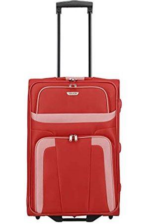 Elite Models' Fashion ORLANDO Koffer, Reisetrolley 2-Rad M (63 cm); Rollkoffer mittlere Größe mit Außen- und Innentasche