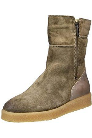 Marc O' Polo Damen Flat Heel Bootie 70914296001304 Schlupfstiefel, (Taupe)