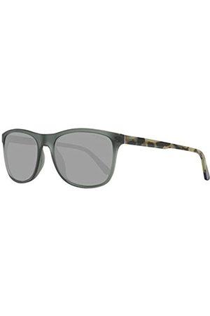 GANT Herren GA7095 Sonnenbrille, (Grey/Other/Smoke Mirror)