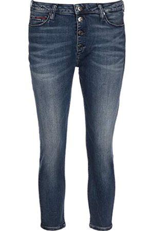 Tommy Hilfiger Damen Sylvia Hr Super Sk Bf Ankle Straight Jeans