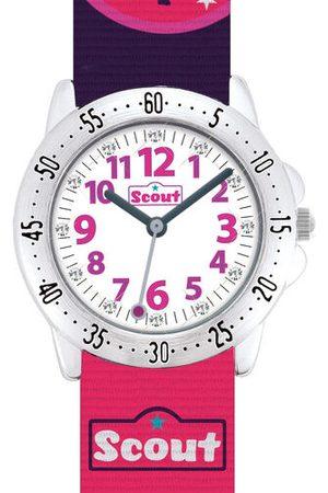 """Scout Mädchenuhr Action Girls """"280378015"""", pink, pink"""