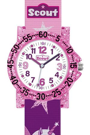"Scout Mädchenuhr The IT-Collection ""280375021"", pink, pink"