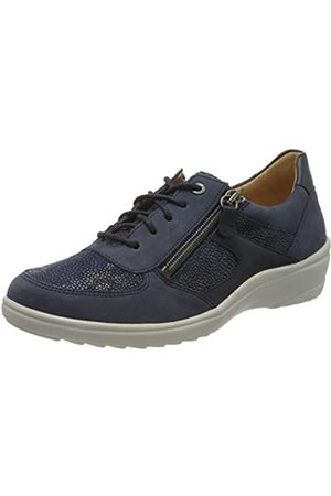 Ganter Damen SENSITIV Helga-H Brogues, (darkblue 3500)