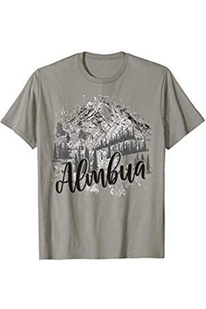 Trachten Wandern Geburtstag Shirt Trachten Shirt. Almbua mit Berge im Hintergrund
