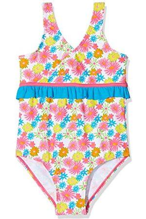 Playshoes Mädchen UV-Schutz Badeanzug Blumenmeer Einteiler