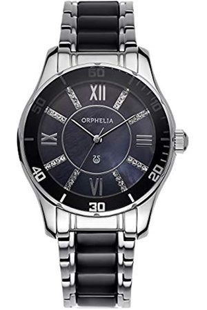 ORPHELIA Damen-Armbanduhr Spirit Analog Quarz Keramik Edelstahl