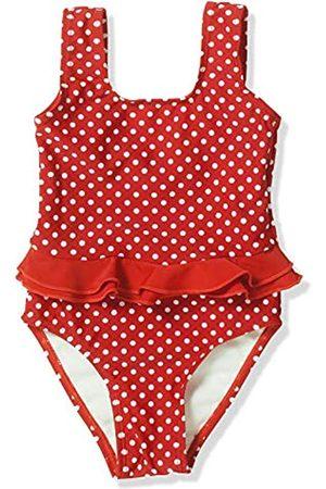 Playshoes Mädchen Badeanzug UV-Schutz Punkte