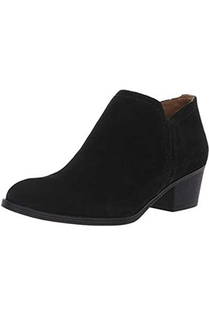 Naturalizer Women's Zarie Ankle Boot, Black Suede