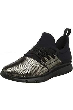 Frau Damen Sneakers Gymnastikschuhe, (Platino Platino)