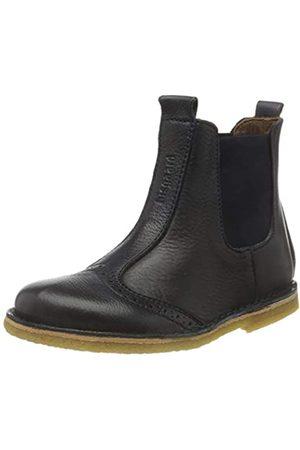 Bisgaard Unisex-Kinder 50203218 Chelsea Boots, (608 Navy)