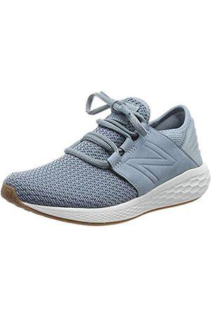 New Balance Damen Fresh Foam Cruz v2 Sneaker, (Smoke Blue/Light Petrol Ns2)