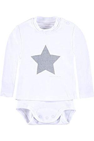 """bellybutton Shirt-Body langärmlig mit Sternenprint Jungen Mädchen Weiß,68\"""""""
